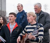 """Співає молодь Церкви """"Голос вічної любові"""""""