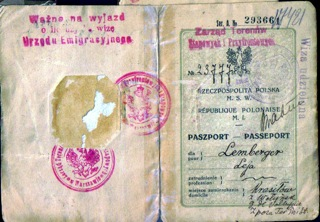Leja Rachman Lemberger Passport