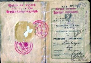 Leja Rachman Lemberger Passport
