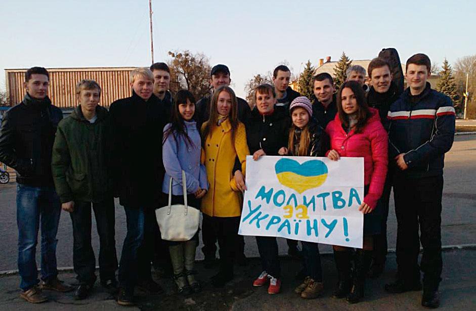 В Красилові відбулась Молитва за мир в Україні