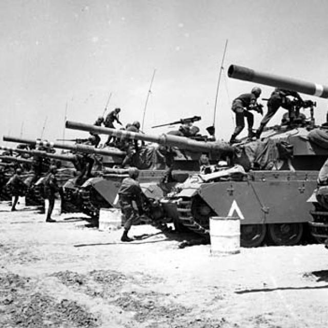 Шестидневная Война 1967г. Израильские танкисты