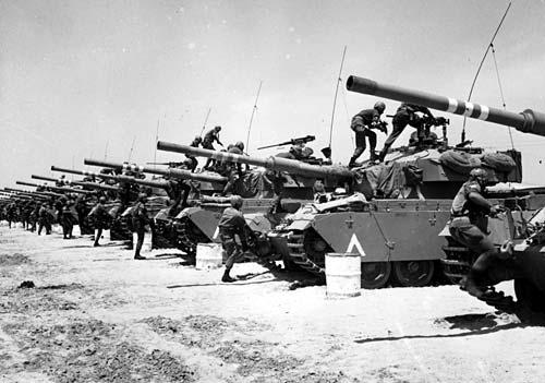 5 июня – Победа Израиля в Шестидневной войне