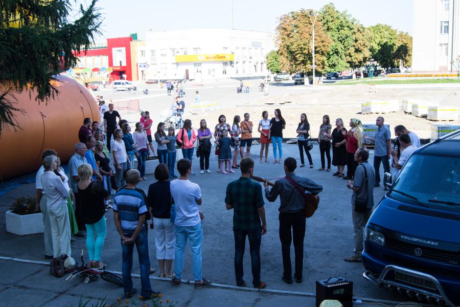 Молитва за Україну в Красилові – 7.09.2014