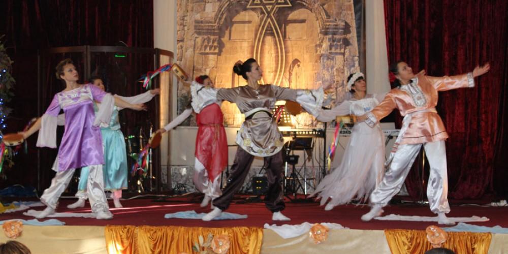 Мессианские евреи в Хмельницком праздновали Суккот