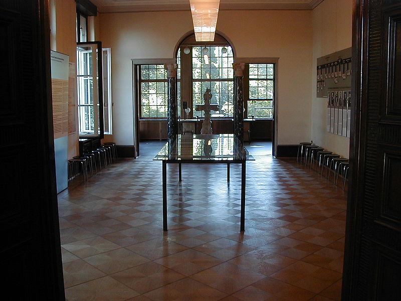 Столовая, где проходило совещание