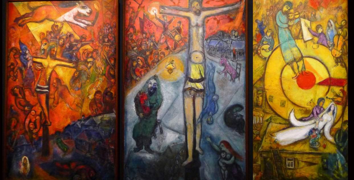 Марк Шагал. Триптих: Сопротивление — Воскрешение-Освобождение