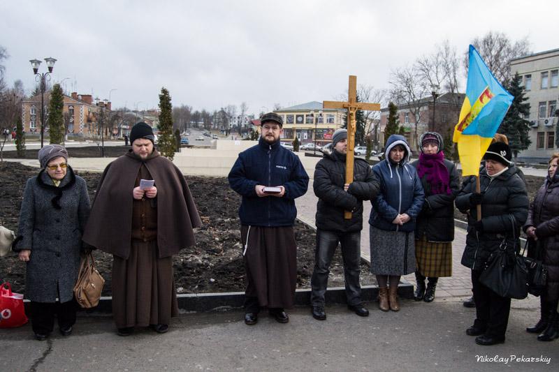 В Красилове католики и православные совместно молились за Украину