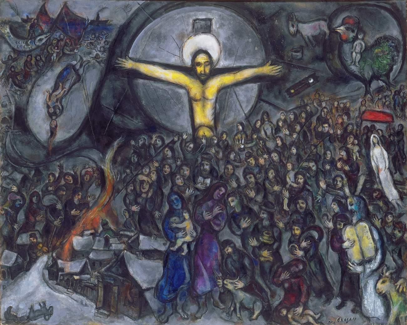 Марк Шагал. ИСХОД. 1952/1966.