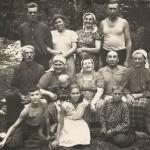 Семья Жир и Тенцеры. Спасенные и спасавшие вместе. 1960 г.