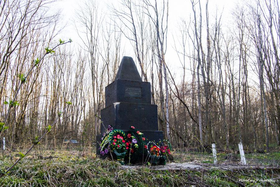 В Маневцах на одной из еврейских братских могил начинаются ремонтно-восстановительные работы