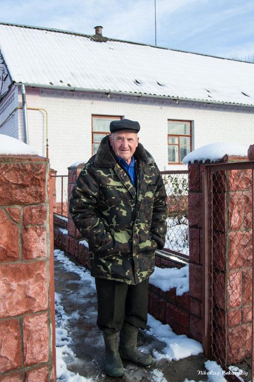 Встреча с кульчинским краеведом Северенюком Дмитрием