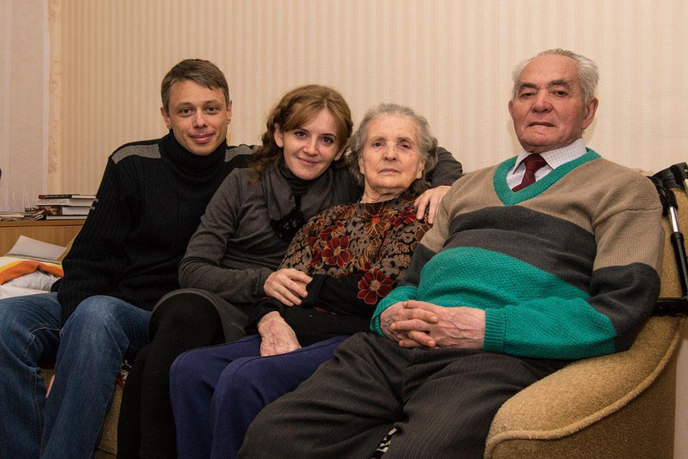 С Вайнерами Наталия и Николай Пекарские