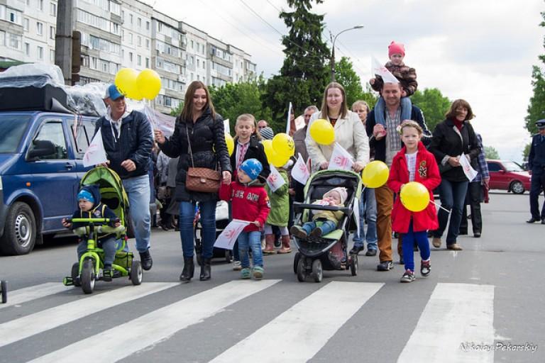 У Хмельницькому пройшли маршем на захист сім'ї