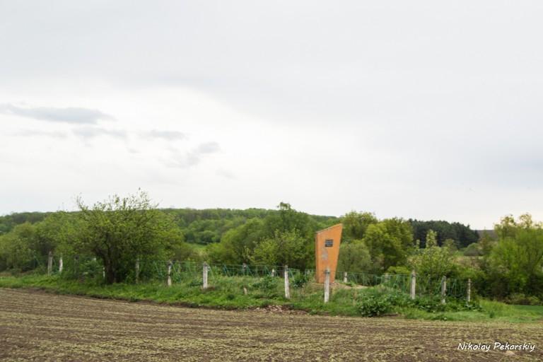 Братская еврейская могила в Росоловцах. 06-05-2016