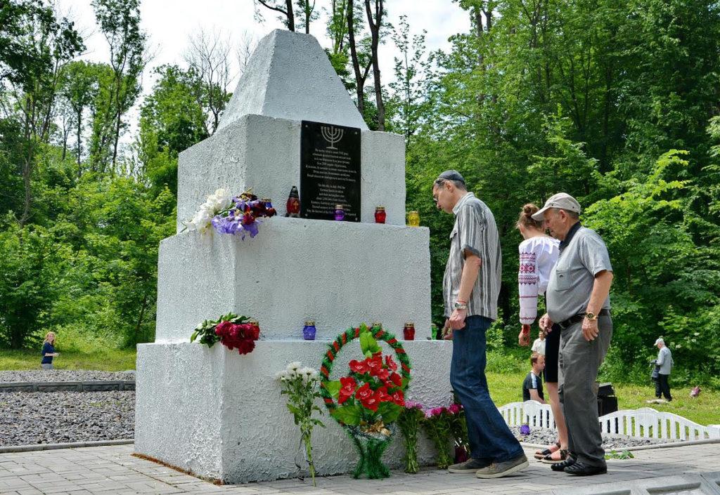 Відкриття оновленого меморіалу жертвам Голокосту часів Другої світової війни